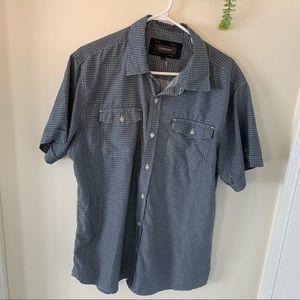 Hydrogen Men Casual Summer Button Down Shirt